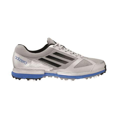 adidas adizero sport golf shoes mens silver blue at