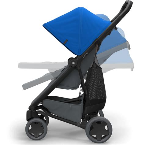 Quinny Zapp Recline by Quinny Zapp Flex Plus Stroller Blue On Graphite