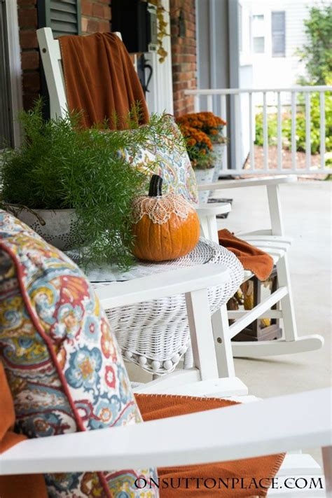 easy fall porch decor a 5 step process on sutton place