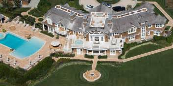 Ocean Front House Plans Aerial Photos Of David Tepper S Hamptons Mansion