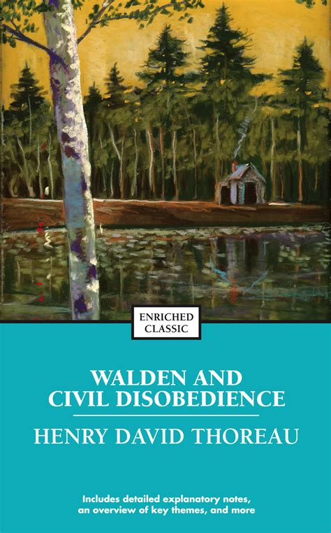 walden book by henry david thoreau walden and civil disobedience book by henry david