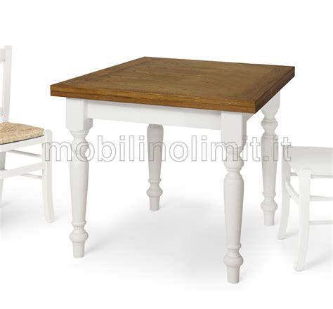 tavolo allungabile 90x90 tavolo allungabile a libro 90x90 bicolore
