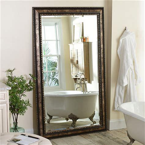Distressed Farmhouse Floor Mirror For Sale - floor mirror length mirror kirklands