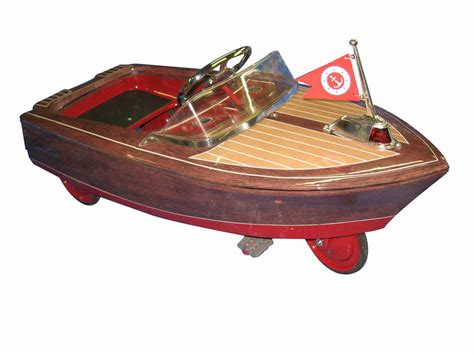 pedal car boat for sale absolutely incredible murray pedal car boat restored as a