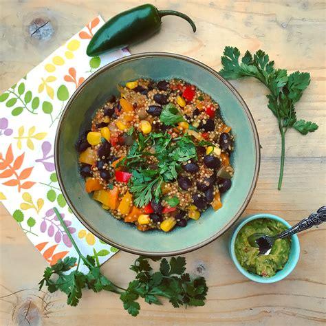 Heb Detox by Mexicaanse Quinoa Stoof Met Eigengemaakte Guacamole I