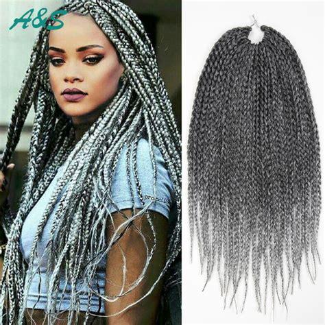 latest colour of attachment for braiding rihanna hairstyle crochet braids crochet hair extension