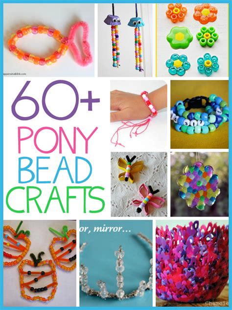 bead crafts 60 pony bead crafts family crafts