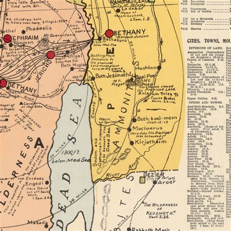 middle east map religion map of israel palestine jesus 1905 middle east