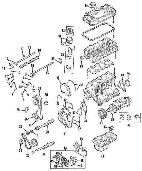 2001 mitsubishi galant engine diagram 2001 mitsubishi galant parts oem mazda parts at