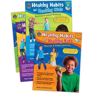 Healthy Habits For Healthy Chart Tcr7736 Created Resources Healthy Habits For Healthy Set 4 Bks Tcr9979 Created Resources