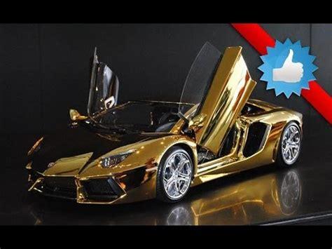 gold lamborghini with diamonds lamborghini car video youtube
