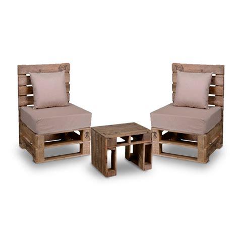 set da giardino in legno set da salotto da giardino con 2 sedie e tavolino bancale