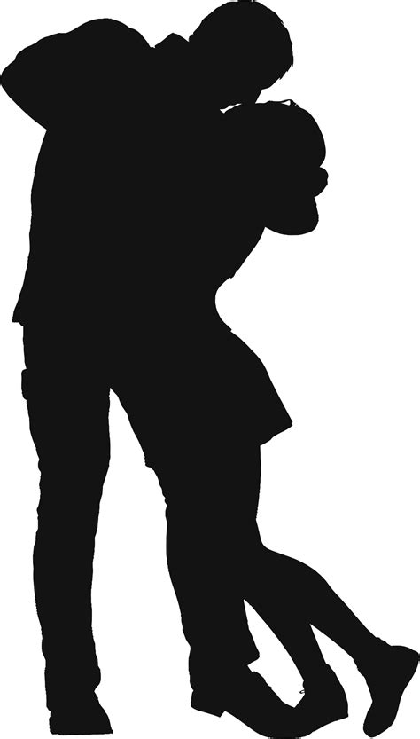 couples silhouette clipart   cliparts
