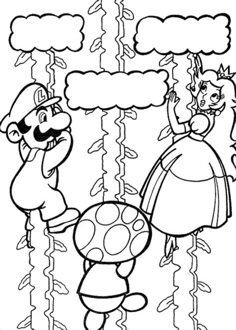 mario and luigi coloring pages to print coloring home
