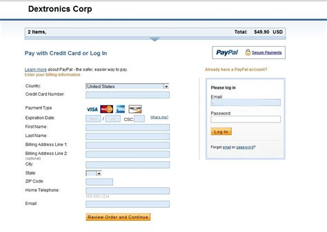 Sle Credit Card Payment Screen I M Considering Firing Paypal As A Payment Process Paypal Community