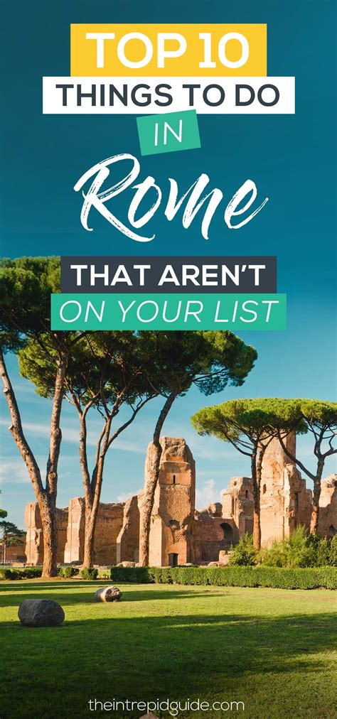 the best things to do in rome top 10 things to do in rome that aren t on your list