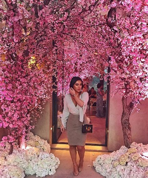 Baby Shower For 3rd Baby by Kanye West Threw Amazing Cherry Blossom
