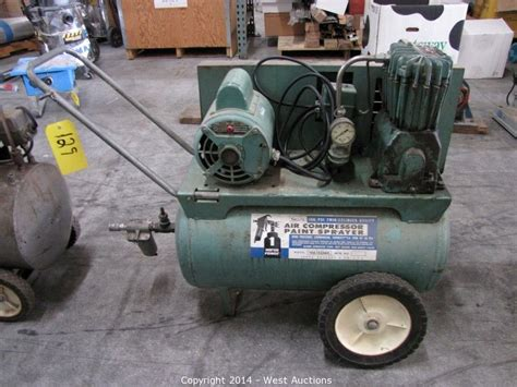 woodworking air compressor west auctions auction bankruptcy auction of l s