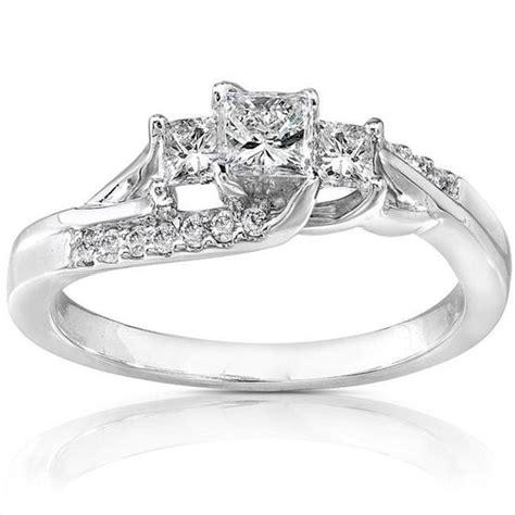 unique design princess engagement ring