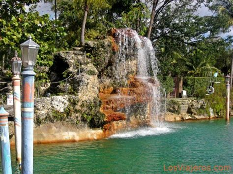 imagenes coral gables miami waterfall of the venetian pool in coral gables miami