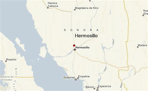 hermosillo sonora mexico map mexico map hermosillo