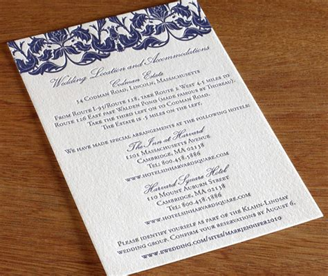 wedding invitation directions card wording how to word the directions card for your wedding