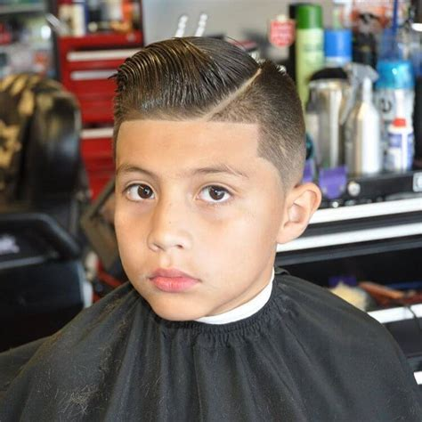 Pompadour Haircut Boys | 31 cutest boys haircuts for 2018 fades pomps lines more
