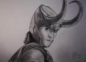 Loki   speed drawing by xGuppy on DeviantArt