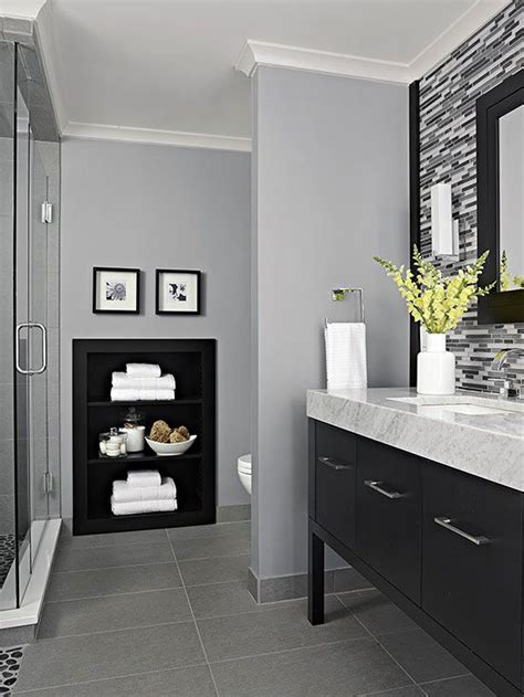 grey white black bathroom 17 best ideas about gray bathrooms on pinterest gray and