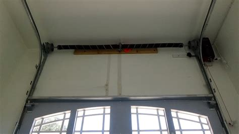 High Ceiling Garage Door Opener High Lift Garage Door Track System Demo
