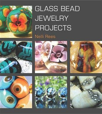 glass bead author glass bead jewelry projects nelli rees 9781861088154