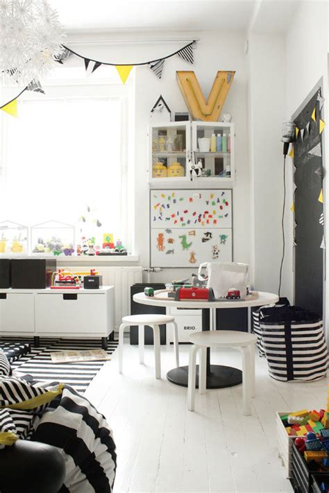 playing with black and white home decor ideas 10 friendly fun kids playrooms tinyme blog