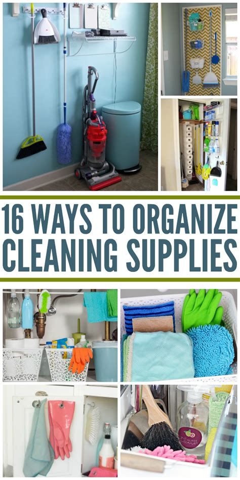 Diy Home Cleaning Ideas 16 Clever Ways To Organize Cleaning Supplies