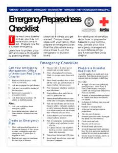 emergency response checklist template page 11
