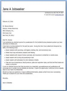 cna cover letter exle school project