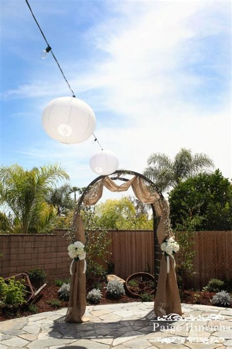 wedding arches decorated with burlap best 25 burlap wedding arch ideas on rustic wedding alter rustic wedding archway