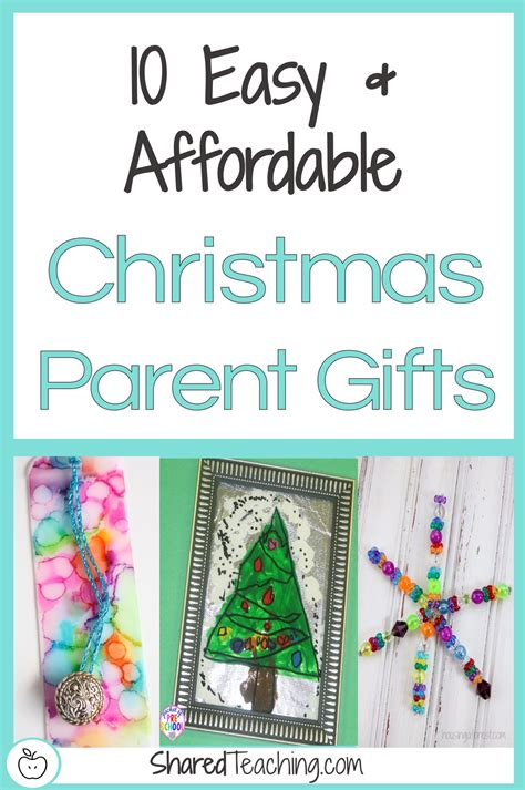 10 easy and affordable christmas gifts for parents