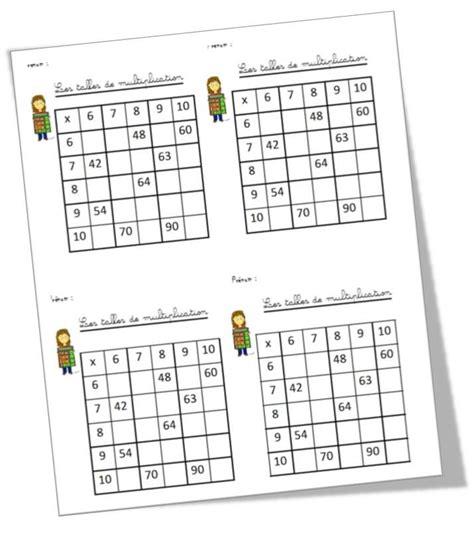 les de table 38 best ideas about tables de multiplication on mandalas charts and facts