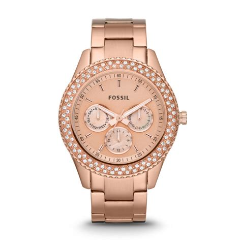 Fossil Uhren Damen by Stella Multifunction Tone Stainless Steel Fossil