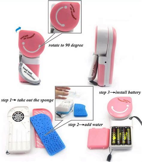Ac Genggam Handheld Air Conditioner Kipas Angin Portable Cooler Pc ac genggam handheld kipas angin portable hidupunik