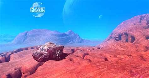 Planet Nomads by Build Anything Explore Strange Planets And Survive
