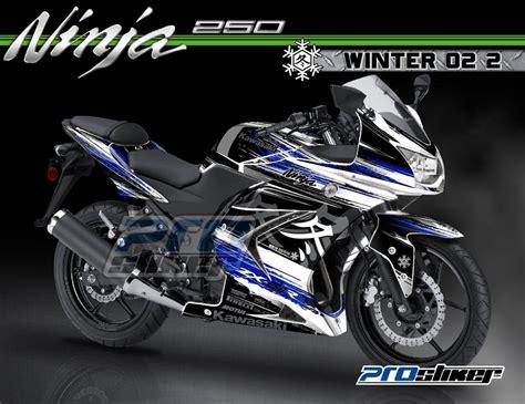 Decal 150 Rr Leyla 08 Putih Sticker Striping modifikasi 250 karbu warna putih decal modif winter 02 2 putih biru