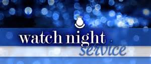 Srcc watch night service p o t h pastor james g austin jr