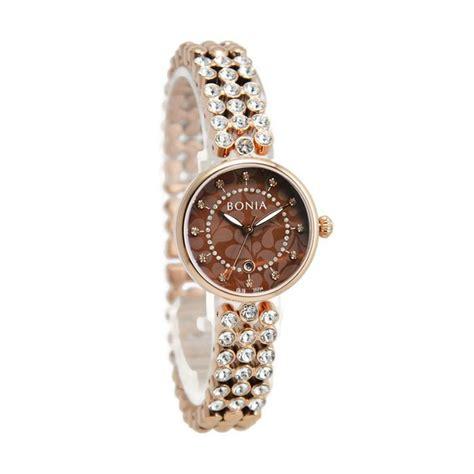 Jam Tangan Wanita Bonia jual bonia bn10234 2547 jam tangan wanita gold