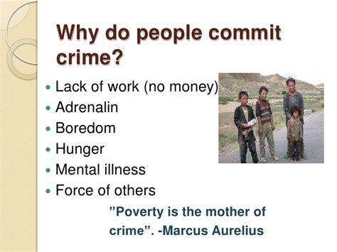 why do people period 6 dominika szczepanik how to prevent crime