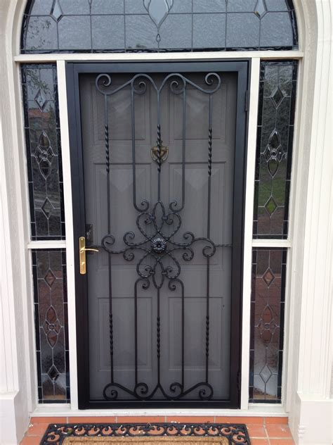 Steel Exterior Security Doors Steel Security Doors Croydon Melbourne East