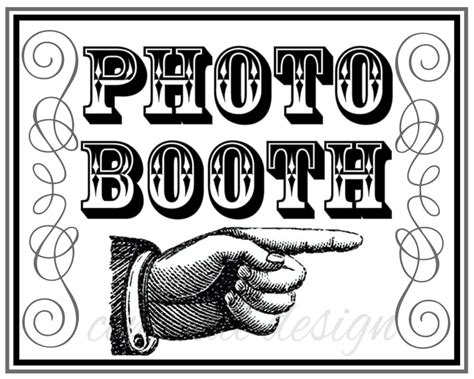 photo booth sign template free chandeliers pendant lights