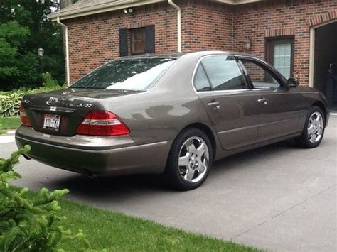 where to buy car manuals 2005 lexus ls auto manual find used 2005 lexus ls430 base sedan 4 door 4 3l briarwood pearl 17 000 in extra options in