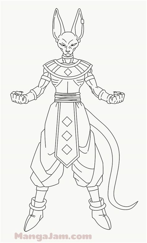Z Drawing Images by How To Draw Beerus From Mangajam
