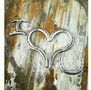 Horseshoe Decorations For Home by Horse Decor Country Home Decor Horseshoe Heart Wall Decor